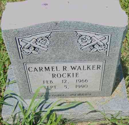 WALKER, CARMEL R - Pulaski County, Arkansas | CARMEL R WALKER - Arkansas Gravestone Photos