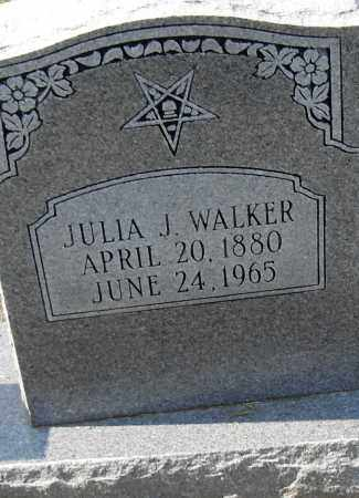 WALKER, JULIA J - Pulaski County, Arkansas | JULIA J WALKER - Arkansas Gravestone Photos