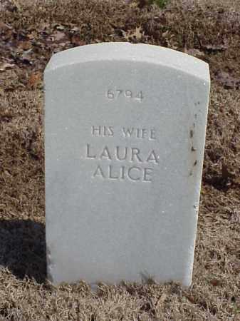 WALKER, LAURA ALICE - Pulaski County, Arkansas   LAURA ALICE WALKER - Arkansas Gravestone Photos