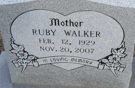 WALKER, RUBY - Pulaski County, Arkansas | RUBY WALKER - Arkansas Gravestone Photos