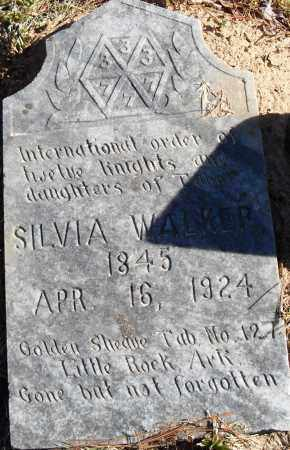 WALKER, SYLVIA - Pulaski County, Arkansas | SYLVIA WALKER - Arkansas Gravestone Photos