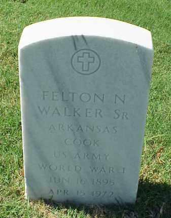 WALKER, SR (VETERAN WWI), FELTON N - Pulaski County, Arkansas | FELTON N WALKER, SR (VETERAN WWI) - Arkansas Gravestone Photos
