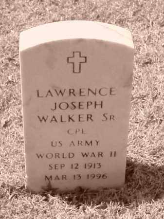 WALKER, SR (VETERAN WWII), LAWRENCE JOSEPH - Pulaski County, Arkansas | LAWRENCE JOSEPH WALKER, SR (VETERAN WWII) - Arkansas Gravestone Photos