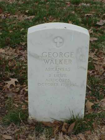 WALKER (VETERAN), GEORGE - Pulaski County, Arkansas | GEORGE WALKER (VETERAN) - Arkansas Gravestone Photos