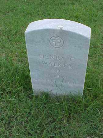 WALKER (VETERAN KOR), HENRY C - Pulaski County, Arkansas | HENRY C WALKER (VETERAN KOR) - Arkansas Gravestone Photos
