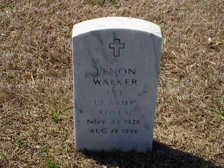 WALKER (VETERAN KOR), LENON - Pulaski County, Arkansas | LENON WALKER (VETERAN KOR) - Arkansas Gravestone Photos