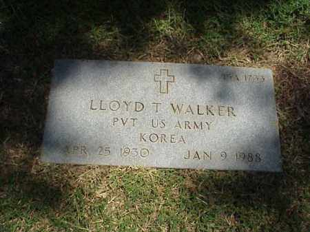 WALKER (VETERAN KOR), LLOYD T - Pulaski County, Arkansas | LLOYD T WALKER (VETERAN KOR) - Arkansas Gravestone Photos