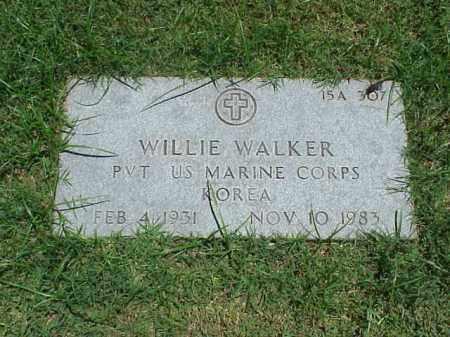 WALKER (VETERAN KOR), WILLIE - Pulaski County, Arkansas | WILLIE WALKER (VETERAN KOR) - Arkansas Gravestone Photos