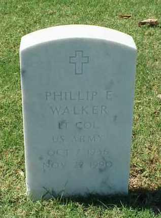 WALKER (VETERAN), PHILLIP E - Pulaski County, Arkansas | PHILLIP E WALKER (VETERAN) - Arkansas Gravestone Photos