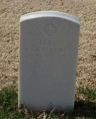 WALKER (VETERAN UNION), JESSE - Pulaski County, Arkansas | JESSE WALKER (VETERAN UNION) - Arkansas Gravestone Photos