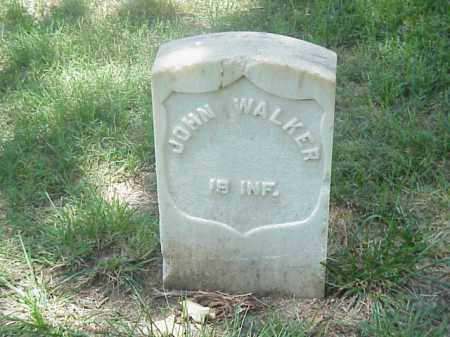 WALKER (VETERAN UNION), JOHN - Pulaski County, Arkansas | JOHN WALKER (VETERAN UNION) - Arkansas Gravestone Photos