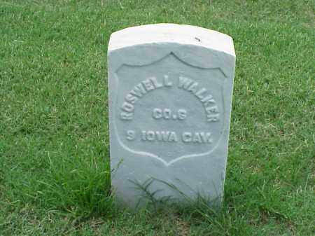 WALKER (VETERAN UNION), ROSWELL - Pulaski County, Arkansas | ROSWELL WALKER (VETERAN UNION) - Arkansas Gravestone Photos
