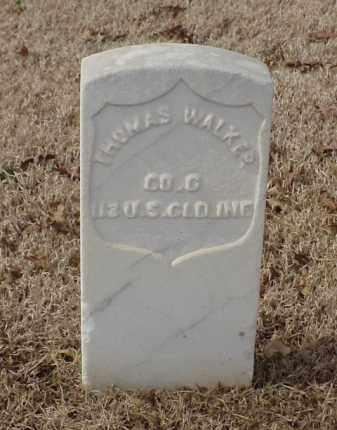 WALKER (VETERAN UNION), THOMAS - Pulaski County, Arkansas | THOMAS WALKER (VETERAN UNION) - Arkansas Gravestone Photos