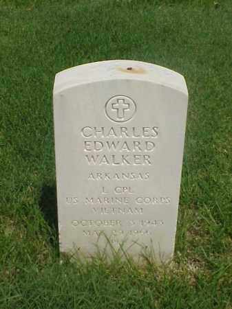 WALKER (VETERAN VIET), CHARLES EDWARD - Pulaski County, Arkansas | CHARLES EDWARD WALKER (VETERAN VIET) - Arkansas Gravestone Photos