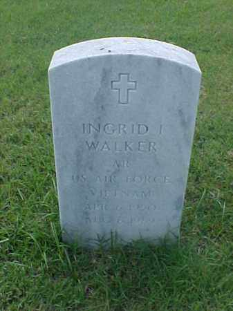 WALKER (VETERAN VIET), INGRID I - Pulaski County, Arkansas | INGRID I WALKER (VETERAN VIET) - Arkansas Gravestone Photos