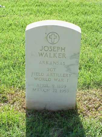 WALKER (VETERAN WWI), JOSEPH - Pulaski County, Arkansas | JOSEPH WALKER (VETERAN WWI) - Arkansas Gravestone Photos