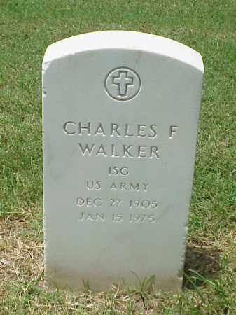 WALKER (VETERAN WWII), CHARLES F - Pulaski County, Arkansas | CHARLES F WALKER (VETERAN WWII) - Arkansas Gravestone Photos
