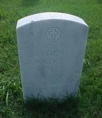 WALKER (VETERAN WWII), EUGENE - Pulaski County, Arkansas | EUGENE WALKER (VETERAN WWII) - Arkansas Gravestone Photos