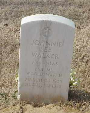 WALKER (VETERAN WWII), JOHNNIE LEE - Pulaski County, Arkansas | JOHNNIE LEE WALKER (VETERAN WWII) - Arkansas Gravestone Photos
