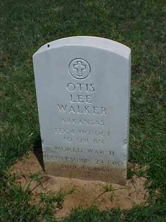WALKER (VETERAN WWII), OTIS LEE - Pulaski County, Arkansas | OTIS LEE WALKER (VETERAN WWII) - Arkansas Gravestone Photos