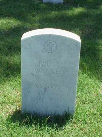 WALKER (VETERAN WWII), RILEY - Pulaski County, Arkansas | RILEY WALKER (VETERAN WWII) - Arkansas Gravestone Photos