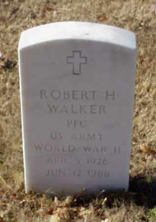 WALKER (VETERAN WWII), ROBERT H - Pulaski County, Arkansas | ROBERT H WALKER (VETERAN WWII) - Arkansas Gravestone Photos