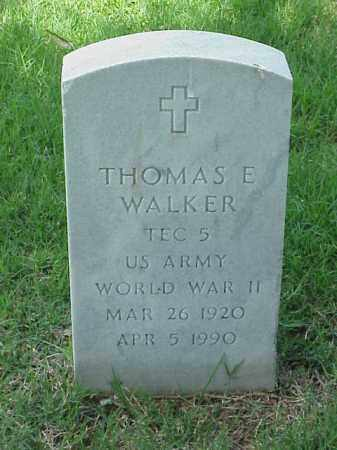WALKER (VETERAN WWII), THOMAS E - Pulaski County, Arkansas | THOMAS E WALKER (VETERAN WWII) - Arkansas Gravestone Photos