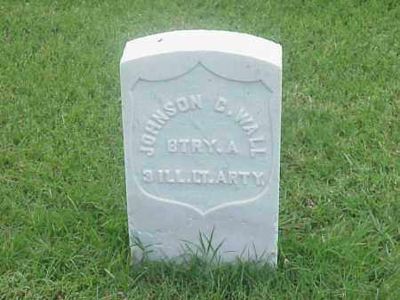 WALL (VETERAN UNION), JOHNSON C - Pulaski County, Arkansas | JOHNSON C WALL (VETERAN UNION) - Arkansas Gravestone Photos