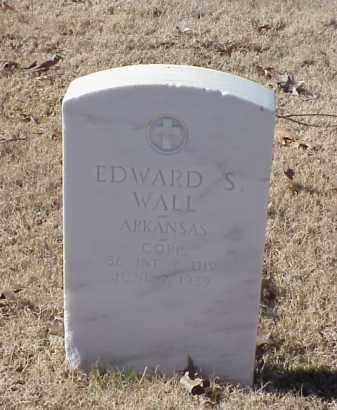 WALL (VETERAN WWI), EDWARD S - Pulaski County, Arkansas | EDWARD S WALL (VETERAN WWI) - Arkansas Gravestone Photos