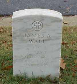 WALL (VETERAN WWI), JAMES A - Pulaski County, Arkansas | JAMES A WALL (VETERAN WWI) - Arkansas Gravestone Photos