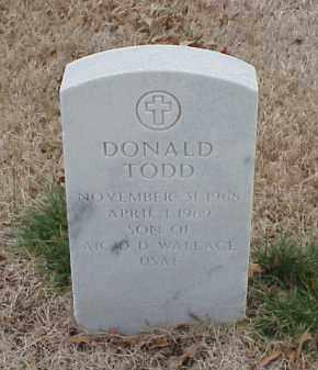 WALLACE, DONALD TODD - Pulaski County, Arkansas | DONALD TODD WALLACE - Arkansas Gravestone Photos