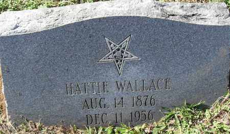 WALLACE, HATTIE - Pulaski County, Arkansas | HATTIE WALLACE - Arkansas Gravestone Photos