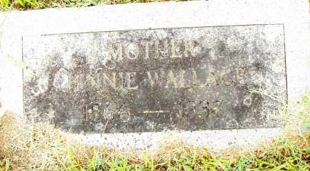 WALLACE, JENNIE - Pulaski County, Arkansas | JENNIE WALLACE - Arkansas Gravestone Photos