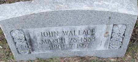 WALLACE, JOHN - Pulaski County, Arkansas | JOHN WALLACE - Arkansas Gravestone Photos