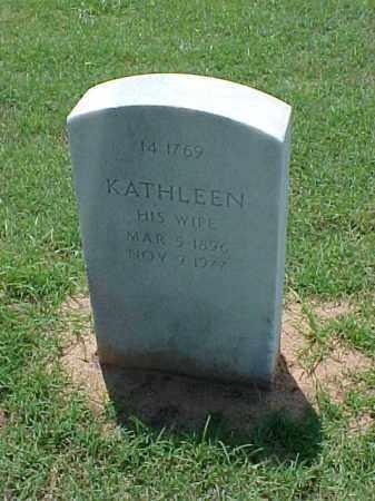 WALLACE, KATHLEEN - Pulaski County, Arkansas | KATHLEEN WALLACE - Arkansas Gravestone Photos