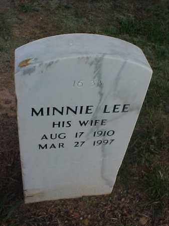WALLACE, MINNIE LEE - Pulaski County, Arkansas | MINNIE LEE WALLACE - Arkansas Gravestone Photos