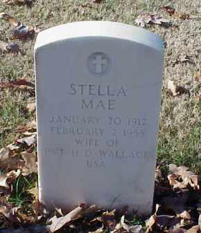 WALLACE, STELLA MAE - Pulaski County, Arkansas | STELLA MAE WALLACE - Arkansas Gravestone Photos