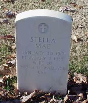 WALLACE, STELLA MAE - Pulaski County, Arkansas   STELLA MAE WALLACE - Arkansas Gravestone Photos