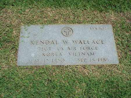 WALLACE (VETERAN 2 WARS), KENDAL W - Pulaski County, Arkansas | KENDAL W WALLACE (VETERAN 2 WARS) - Arkansas Gravestone Photos
