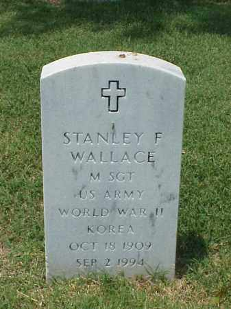 WALLACE (VETERAN 2 WARS), STANLEY F - Pulaski County, Arkansas | STANLEY F WALLACE (VETERAN 2 WARS) - Arkansas Gravestone Photos