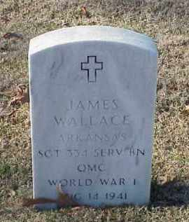 WALLACE (VETERAN WWI), JAMES - Pulaski County, Arkansas | JAMES WALLACE (VETERAN WWI) - Arkansas Gravestone Photos