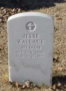WALLACE (VETERAN WWI), JESSE - Pulaski County, Arkansas | JESSE WALLACE (VETERAN WWI) - Arkansas Gravestone Photos
