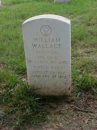 WALLACE (VETERAN WWI), WILLIAM - Pulaski County, Arkansas | WILLIAM WALLACE (VETERAN WWI) - Arkansas Gravestone Photos