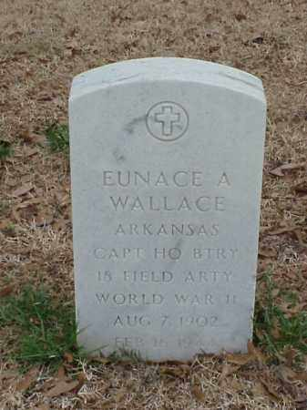 WALLACE (VETERAN WWII), EUNACE A - Pulaski County, Arkansas | EUNACE A WALLACE (VETERAN WWII) - Arkansas Gravestone Photos