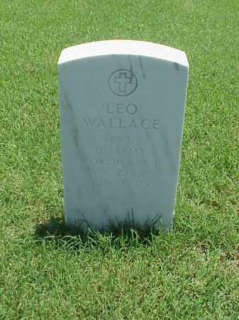 WALLACE (VETERAN WWII), LEO - Pulaski County, Arkansas | LEO WALLACE (VETERAN WWII) - Arkansas Gravestone Photos