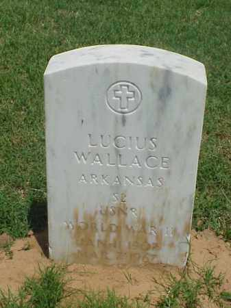 WALLACE (VETERAN WWII), LUCIUS - Pulaski County, Arkansas | LUCIUS WALLACE (VETERAN WWII) - Arkansas Gravestone Photos