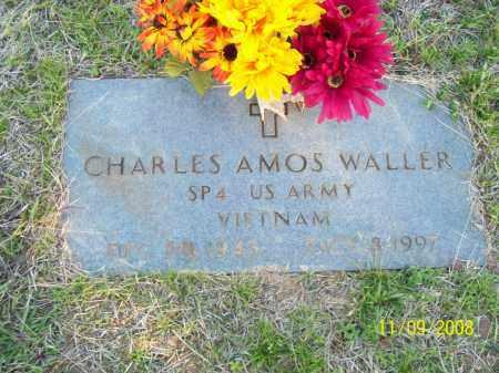 WALLER  (VETERAN VIET), CHARLES AMOS - Pulaski County, Arkansas | CHARLES AMOS WALLER  (VETERAN VIET) - Arkansas Gravestone Photos