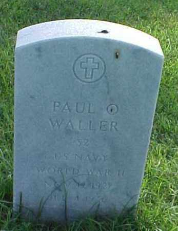 WALLER (VETERAN WWII), PAUL O - Pulaski County, Arkansas | PAUL O WALLER (VETERAN WWII) - Arkansas Gravestone Photos