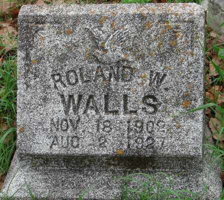WALLS, ROLAND W. - Pulaski County, Arkansas | ROLAND W. WALLS - Arkansas Gravestone Photos