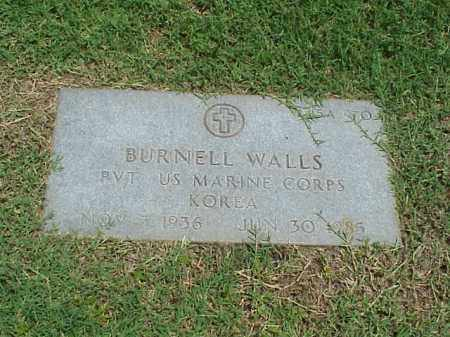 WALLS (VETERAN KOR), BURNELL - Pulaski County, Arkansas | BURNELL WALLS (VETERAN KOR) - Arkansas Gravestone Photos
